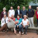 Ehrungen machen Spaß!! Langjährige Mitglieder und der Vorstand bei der Mitgliederversammlung in Mainz